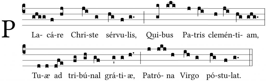 Placare Christe Servulis