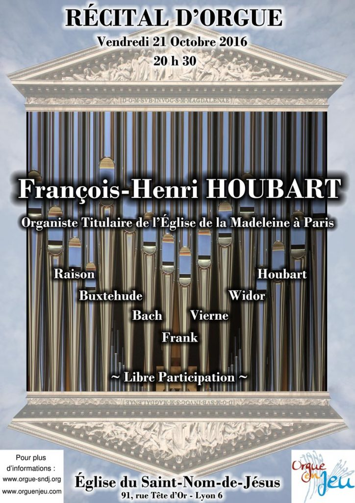 Affiche F. H. Houbart
